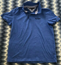 Tommy Hilfiger T-Shirt - Blue With Collar - 100% Cotton