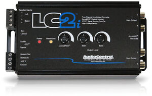 AudioControl 2 Channel Speaker Level to RCA Converter High to Low Adapter LC2i