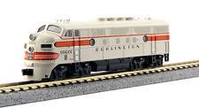 Kato N Scale F3A F3 Locomotive Burlington CB&Q #9960C DC DCC Ready 1761314