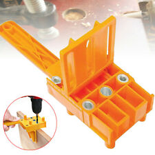 Handheld Woodworking Doweling Jig Drill Guide Wood Dowel Drilling Hole Tools US