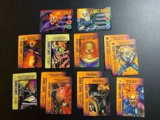 Marvel Overpower GHOST RIDER LOT of 13 IQ Hero Card PENANCE STARE OPD