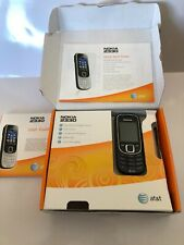 Nokia 2320-2B (At&T) Black Clean w/ battery & manuals, no chargers or Sim card