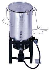 30QT Turkey Deep Fryer Kit Expert Grill Steamer Stock Pot Propane LP Outdoor NEW