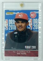 2018-19 Panini Instant Draft 2018 Trae Young Rookie RC #DN5, Hawks, 1 of 435