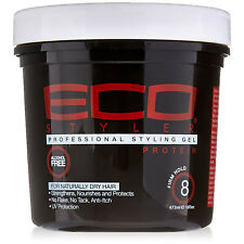 [ECO STYLER] STYLING GEL PROTEIN ALCOHOL FREE *FIRM HOLD* 16OZ REGULAR