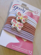 Goody Elastic/Rubber Hair Ponytail Holders Accessories