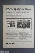 R&L Ex-Mag Advert: Yashica J5 SLR Camera, Photax London