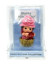 Rare 2000 New Rosie Chapeauzie Happy Hatter Collection Christmas Merry Miniature