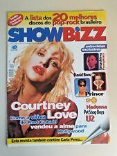 Madonna in  Show  BIZZ Music MAGAZINE BRAZIL 2-1996 Courtney Love  Prince U2