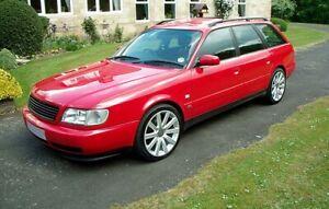 Für Audi A6/S6 C4 Cup Front Spoiler Lippe Frontschürze Frontlippe Ansatz Cupra_