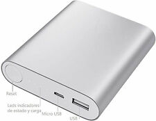 PowerBank Power Bank Metal bateria externa para movil y tablet + CABLE CARGA
