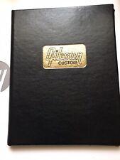 Gibson Custom COA ES SG Les Paul Explorer Flying V Firebird Blank Certificate