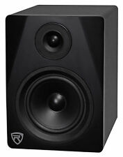 "Rockville DPM5B 5.25"" 2-Way 150W Black Active/Powered Studio Monitor Speaker"