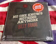 "BILLY BRAGG NO ONE KNOWS / ICEBERG sealed RSD 7"" White Wax Record Store Day 2013"