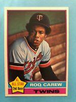 1976 Topps Baseball Card #400 Rod Carew Minnesota Twins  HOF