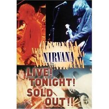 ** NEW DVD ** Live Tonight Sold Out by Nirvana (US) (DVD, Nov-2006, Geffen)