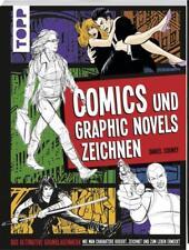 COMICS UND GRAPHIC NOVELS ZEICHNEN - DANIEL COONEY - TOPP-KREATIV - NEUWERTIG