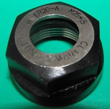 ER20 Collet Chuck Hexagon Clamping Nut M25x1.5 thread Quality NEW
