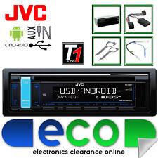 VW Passat 99-05 JVC Car Stereo Radio CD MP3 USB iPod Iphone Aux Controllo Sterzo