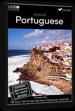 Eurotalk Ultimate Portuguais 5 Produit Set USB & Talk Now tablette