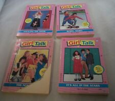 Lot of 4 Vintage Girl Talk Books by L.E. Blair