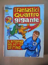 I FANTASTICI QUATTRO GIGANTE n°5 1978 ED. Corno  [SP14]