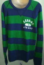 Men AEROPOSTALE Aero 87 Stripe Crew-Neck Sweater size XL Retail $54.50 NWT #2105