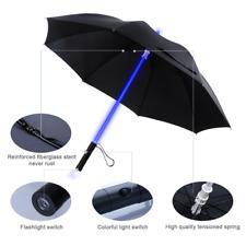 Ombrello Spada LASER LED luce fino a 7 colori e con torcia sul fondo
