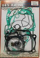 G&S Complete Gasket Kit Set Top And Bottom End HONDA CRF450X 2005-2018 crf 450x