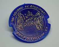 1987 National Re-Enactment Battle if Perryville KY Cannon Vintage Lapel Pin