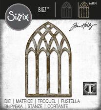 Tim Holtz Sizzix Bigz Die - Cathedral Window 664974