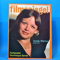 DDR Filmspiegel 3/1984 Dominique Sanda Adriano Celentano Walter Plathe Pager N