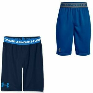 Under Armour Tech Kids Boys Prototype Shorts Fitness Training Boxers 1309310