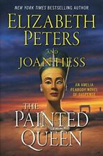 The Painted Queen: A Novel (Amelia Peabody) - Hardcover - GOOD