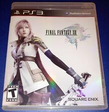 PS3 Final Fantasy XIII 13 (PlayStation 3, 2010) CIB Video Game Tested EUC!
