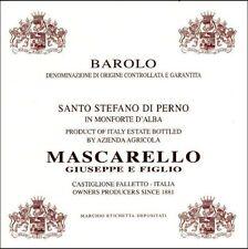 6 bt. BAROLO DOCG SANTO STEFANO DI PERNO 2012 MASCARELLO GIUSEPPE