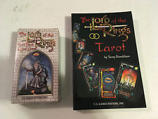 Lord of the Rings LOTR Tarot Deck Card Game with Guide Book Manual