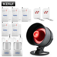 Cheap Wireless Burglar Alarm System Local Siren Speaker Security Home Alarm
