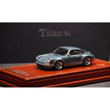 In Stock Make Up Titan Eidolon 1:64 Porsche Singer 911 964 Coupe Model w/Base
