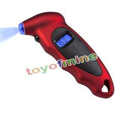 Auto digitale manometro della gomma Luce display Pronto Facile da usare Meter