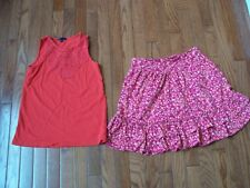 Lots of 2 Pcs Girls Comfy Outfits, size 12, Pre-owned