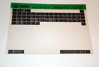 Microfich Teilekatalog Ersatzteilkatalog Yamaha RD 50 MX ab 1981