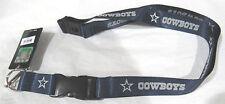 NFL NWT KEYCHAIN LANYARD- DALLAS COWBOYS - BLUE