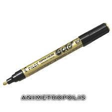 Pilot Super Color Gundam Plastic Model Kit Marker & Pen Gold  SC-G-M 2.0mm New
