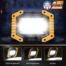 30w Cob Led Work Light Usb Rechargeable Camping Floodlight Emergency Lamp Stand
