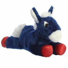 """Aurora - Mini Flopsie - 8"""" Brave Donkey Plush Toy Animal"""