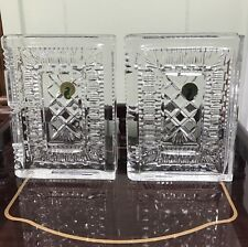 Pair Of Handsome Waterford Walden Bookends