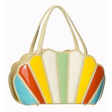 Dancing days Da Donna Retrò Rainbow brevetto 1950s 1960s Rockabilly Vintage Borsa a mano