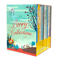 NEW Puffin Classics 10 Books Story Collection Gift Set Library Box Kids Stories!