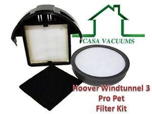 Hoover WindTunnel 3 Pro Pet Upright Compatible Filter Kit 303903001 305687002